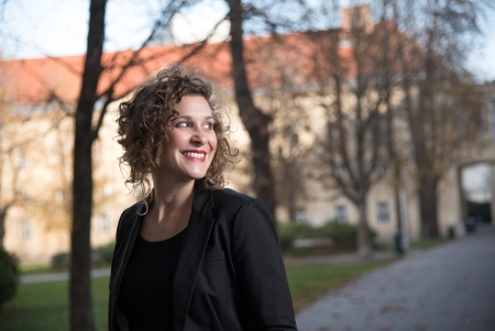 Cassandra, author of the stories blog ungesagt.com – Vienna, Austria, 2017